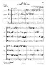 L'Eroica Andrea Falconieri Partition Trombone - laflutedepan