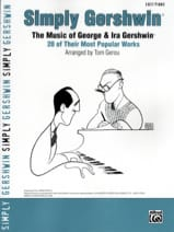 George and Ira Gershwin - Simply Gershwin, the music of George - Ira Gershwin - Sheet Music - di-arezzo.com