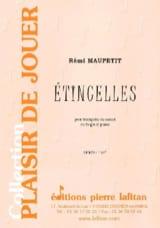Rémi Maupetit - Etincelles - Partition - di-arezzo.fr