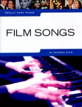 Really easy piano - Film songs Partition laflutedepan.com