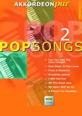 Akkordeon Pur - Pop Songs 2 Partition Accordéon - laflutedepan.com