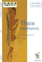 Thais (méditation) - Jules Massenet - Partition - laflutedepan.com