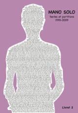 Textes et partitions 1993-2009 Livret 2 Solo Mano laflutedepan.com
