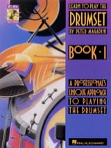 Peter Magadini - Learn to play the drumset book 1 - Partition - di-arezzo.fr