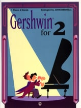 George Gershwin - Gershwin for 2 - One piano four hands - Partition - di-arezzo.fr
