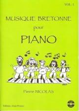Musique Bretonne pour piano volume 1 Pierre Nicolas laflutedepan.com