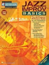 Jazz play-along volume 150 - Jazz Improv Basics laflutedepan.com