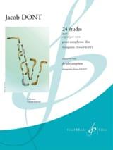 24 Etudes opus 37 - Original pour violon Jacob Dont laflutedepan.com