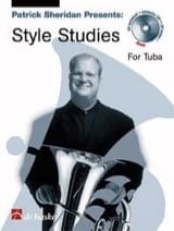 Patrick Sheridan - Style studies for tuba - Sheet Music - di-arezzo.co.uk