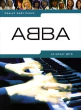 Really easy piano - ABBA ABBA Partition Pop / Rock - laflutedepan