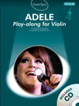 Adele - Guest Spot - Adele Play-along for violin - Partition - di-arezzo.fr