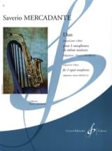 Duo - Original pour 2 flûtes Saverio Mercadante laflutedepan.com