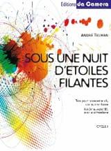 André Telman - Sous une nuit d'étoiles filantes - Partition - di-arezzo.fr