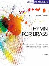 Hymn for brass André Telman Partition laflutedepan.com