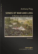 Songs of war and loss Anthony Plog Partition laflutedepan.com