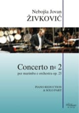 Nebojsa jovan Zivkovic - Concerto N° 2 opus 25 - Partition - di-arezzo.fr