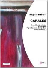 Capalès Régis Famelart Partition Multi Percussions - laflutedepan.com