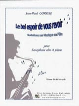 Jean-Paul Gorisse - The good hope to see you again - Sheet Music - di-arezzo.co.uk