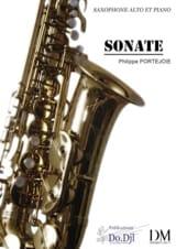 Sonate - Philippe Portejoie - Partition - Saxophone - laflutedepan.com