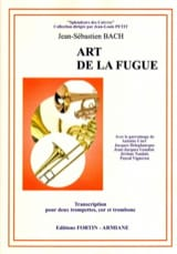 Art de la fugue BACH Partition Ensemble de cuivres - laflutedepan.com