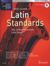 Latin standards Partition Saxophone - laflutedepan.com