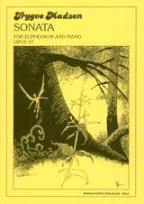 Trygve Madsen - Sonata for euphonium Opus 97 - Partition - di-arezzo.fr
