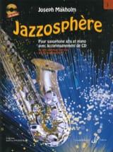 Jazzosphère volume 3 Joseph Makholm Partition laflutedepan.com