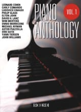 Piano anthology volume 1 Partition laflutedepan.com
