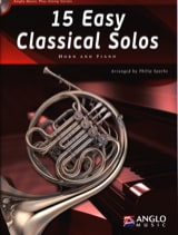 15 Easy classical solos Partition Cor - laflutedepan.com