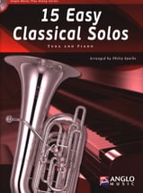 15 Easy classical solos Partition Tuba - laflutedepan.com