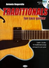 Traditionals for jazz guitar Antonio Ongarello laflutedepan.com