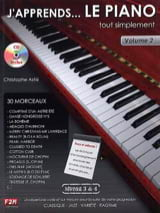 J' Apprends... le piano tout simplement volume 2 - laflutedepan.com