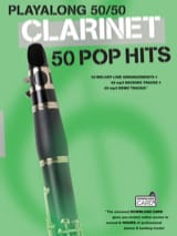 Playalong 50/50 - Clarinet - 50 Pop hits Partition laflutedepan.com