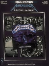 Ride The Lightning Metallica Partition Batterie - laflutedepan.com