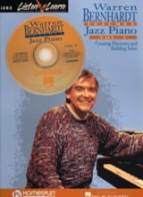 Warren Bernhard teaches jazz piano volume 2 laflutedepan.com