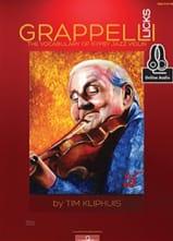 Grappelli licks - The vocabulary of gypsy Jazz violin laflutedepan.com