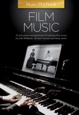 Piano Playbook - Film Music - Partition - laflutedepan.com