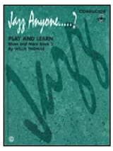 Jazz anyone...? Play and learn blues and more book 2 laflutedepan