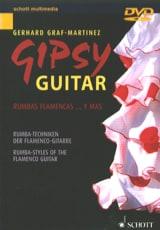 DVD - Gipsy guitar Gerhard Graf-Martinez Partition laflutedepan