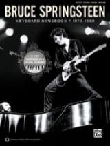 Bruce Springsteen keyboard songbook 1973-1980 laflutedepan.com