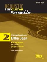 Billie Jean - Acoustic pop guitar ensemble N°2 - laflutedepan.com