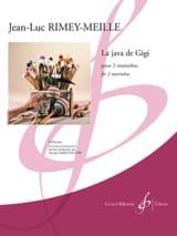 La java de Gigi Jean-Luc Rimey-Meille Partition laflutedepan.com