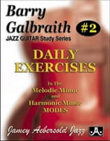 Barry Galbraith - Daily exercises - Sheet Music - di-arezzo.com