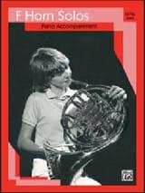 French horn solos - Level 1 Partition Cor - laflutedepan.com