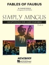 Fables of faubus Charles Mingus Partition ENSEMBLES - laflutedepan