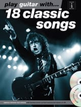 Play guitar with... 18 classic songs avec 2 CDs laflutedepan.com