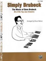 Simply Brubeck Dave Brubeck Partition Jazz - laflutedepan.com