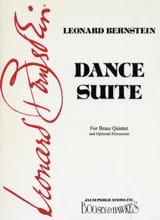 Dance Suite - Conducteur et parties Leonard Bernstein laflutedepan.com