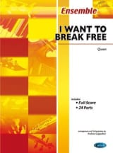 I want to break free Queen Partition ENSEMBLES - laflutedepan.com