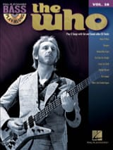 Bass play-along volume 28 - The Who - The Who - laflutedepan.com